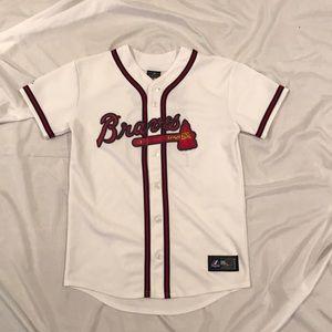 Majestic Atlanta Braves C. Jones Authentic jersey
